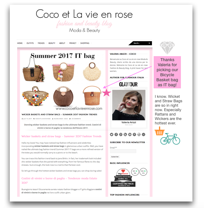 Our Products Featured on cocoetlavieenrose.com!!