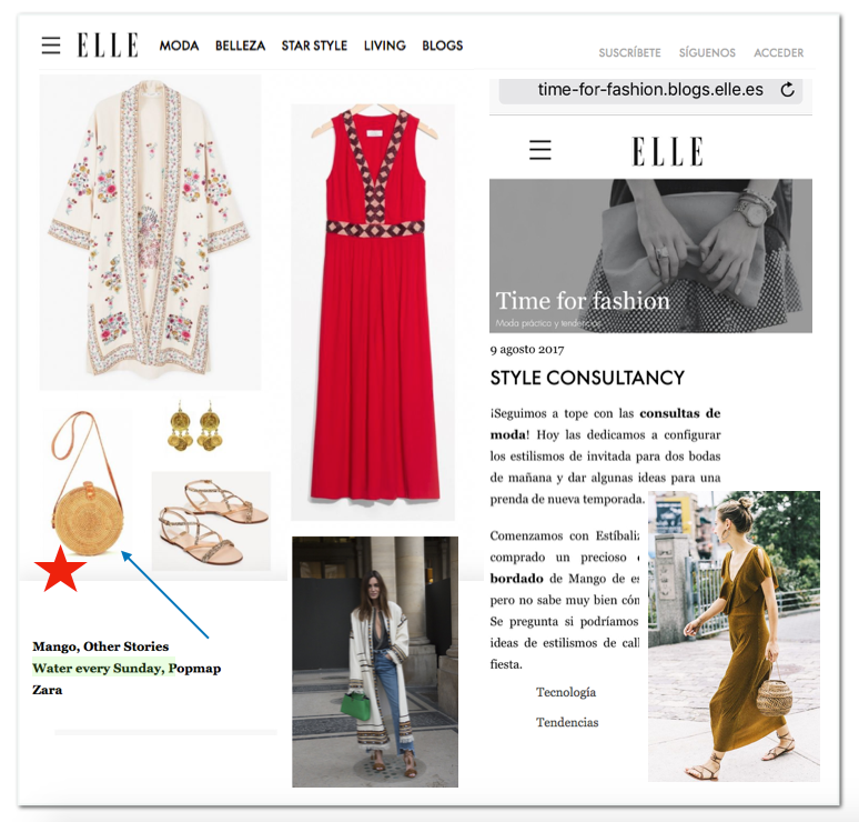 Our Product Featured on time-for-fashion.blogs.elle.es !!