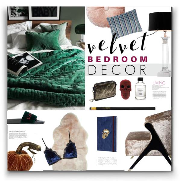 Velvet Bedroom Decor