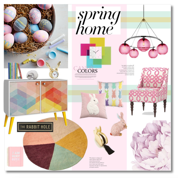 Spring Decor - Pastels and Candy Colors