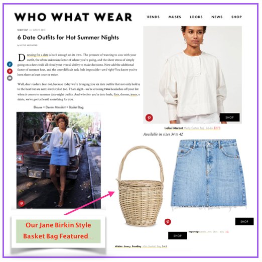 Our Product Featured On WHO WHAT WEAR !!
