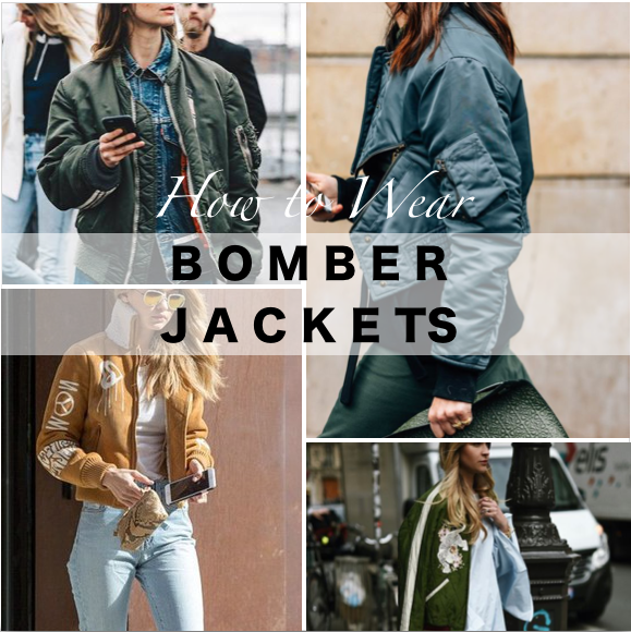 How to Wear Bomber Jackets