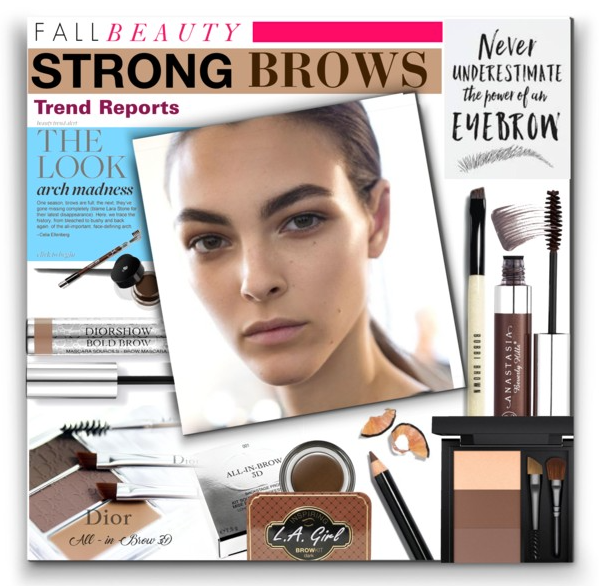 Fall Beauty - Strong Brows