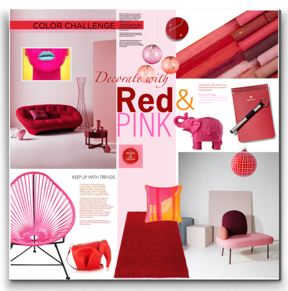 Red & Pink Decor