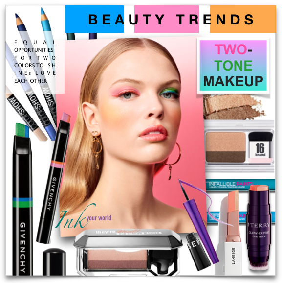 Bold & Beautiful: Two Tone Makeup - Beauty Trend