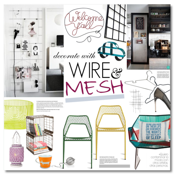 Wire & Mesh Decor