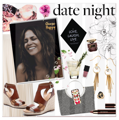 date night style - halle berry watereverysunday