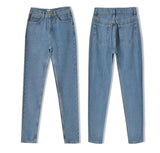 Jamie Light Washed High Waisted Mom Jeans