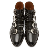 Becca Studs & Belts Motorcycle Boots