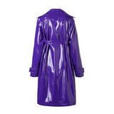 Lilian Patent Leather Trench Coat - 2 Styles