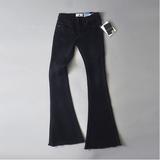 Alina Retro Wide Leg Flare Jeans - 5 Colors