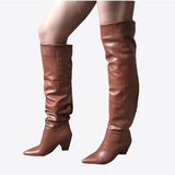 Lilith Slouch Boots - 2 Colors