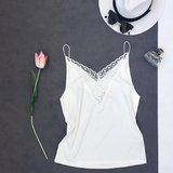 Elaina Floral Lace Camisole Top