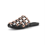 Xena Metal Studs Cage Slippers - 4 Colors