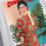 Fei Cheongsam Fashion Girl Graphic T-Shirt