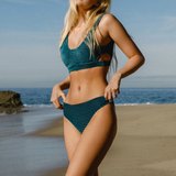 Thierry Textured Velvet Bikini Swimsuits - 2 Colors