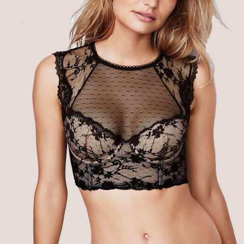 Naomi Lace Bralette Crop Top