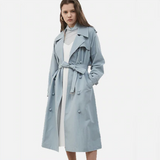 Devon Casual Double Breasted Trench Coat