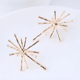 Nina Starburst Stud Earrings - Gold or Silver