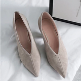 Anuja Pointed Toe & Heel Classic Pumps - 3 Colors