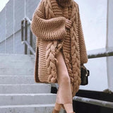 Gracie Chunky Knit Tasseled Cardigan Sweater - 5 Colors