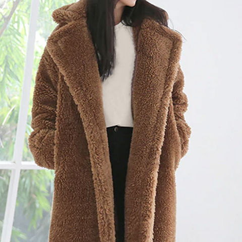 Faux Fur Teddybear Lambswool Coats - 7 Colors