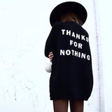 THANKS FOR NOTHING Casual Knit Cardigan - 2 Colors