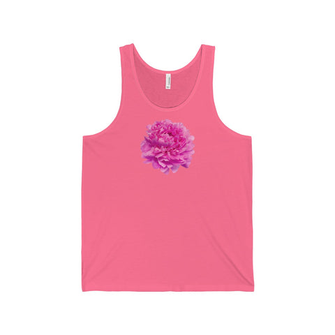 Pink Peony Tank Tops - 12 Colors