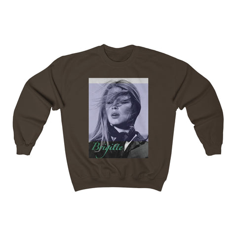 Brigitte Graphic Prints Crewneck Sweatshirts - 7 Colors