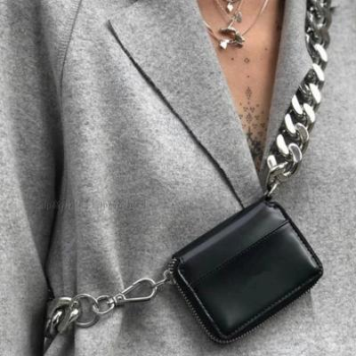 Freja Metal Chain Fanny Bag