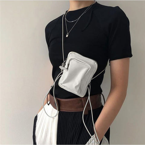 Multi Way Fanny Bag with Thin Strings - 4 Colors