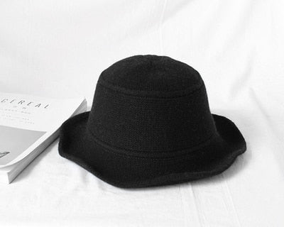 Knit Bucket Hat - 6 Colors
