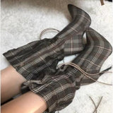 Kadence Drawstring Mid Ankle Boots - 5 Colors