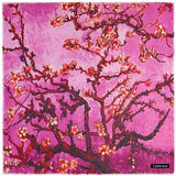 Luxe Cashmere Sakura Painting Scarves, Large - 3 Colors