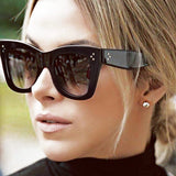 Square Cat Eye Acetate Sunglass
