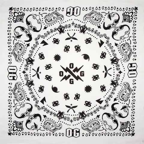 Pirate Print Neckerchief Bandana