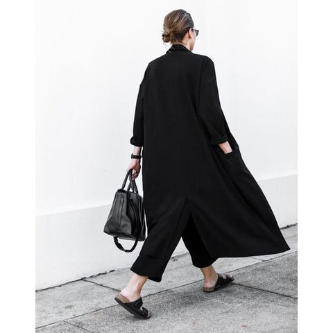 Casual Trench Duster Coat