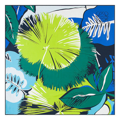 Tropical Floral Silk Scarf, Large - 3 Styles