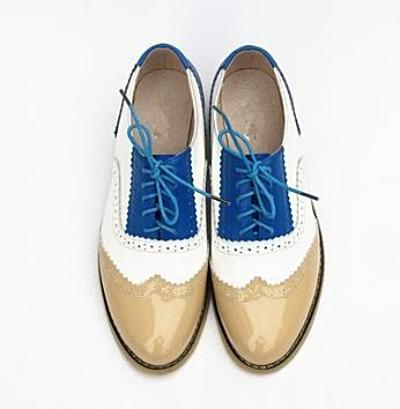 Vintage Genuine Leather Oxford Brogues - 9 Styles