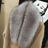 Detachable Faux Fur Scarf/Collar - 14 Colors