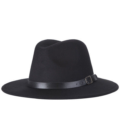 Brixton Wide Brim Wool Fedoras - 7 Colors