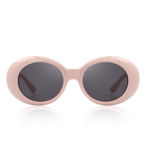 Retro Oval Acetate Sunglasses - 5 Colors
