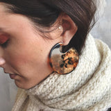 Alejandra Vintage Resin Earrings - 3 Colors
