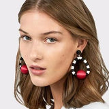 Molly Geometry Statement Drop Earrings - 8 Colors