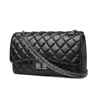 Classic Quilted Leather Flap Bag