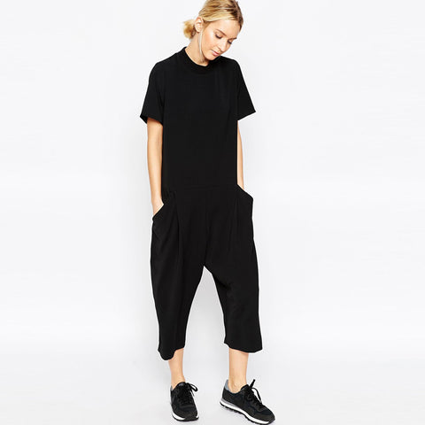 Erin Overall Harem Jumpsuit