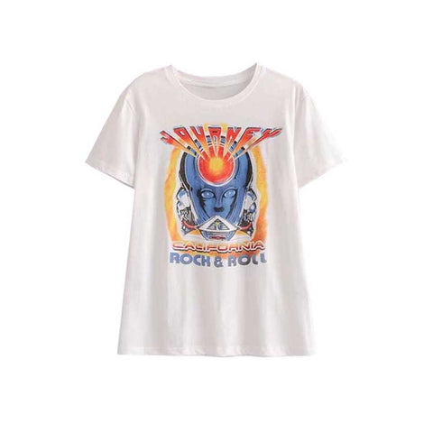 Retro Vintage Graphic Band T-Shirts