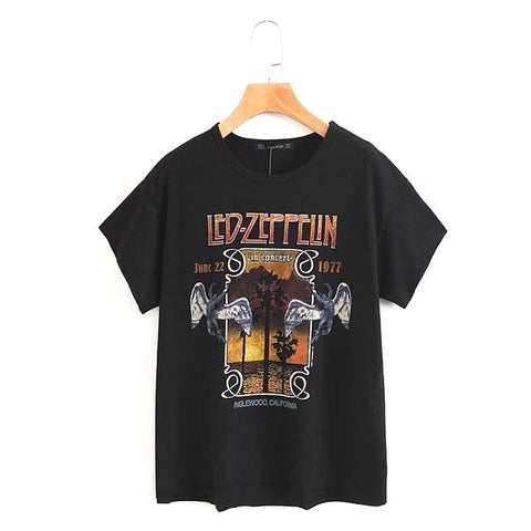 Led Zeppelin Rock Band Graphic Tees