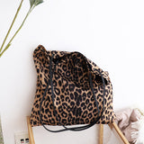Leopard Print Eco Tote - 3 Colors