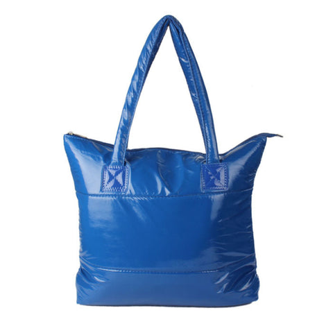 Colorful Puffer Nylon Tote Bag - 9 Colors